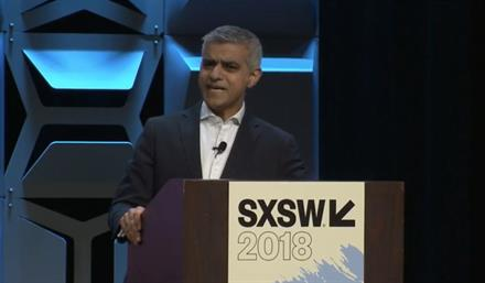 London Mayor demands tech firms take greater responsibility for impact they're having on world