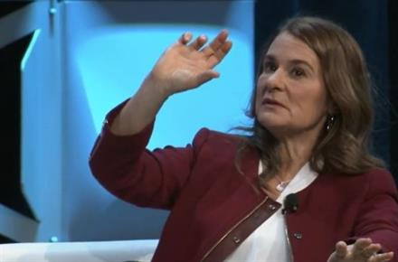 Melinda Gates reveals 'aggressive,' male-dominated life at Microsoft as she calls on all of us to redesign the workplace