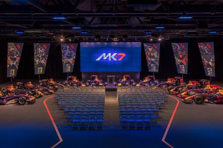 Red Bull Racing launches MK-7 event space