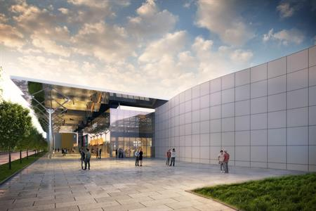 Rendering of what the O2 Universum will look like