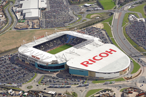 LOCOG selects Ricoh Arena for Olympic football venue