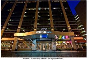 Avenue Crowne Plaza Chicago opens