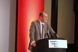 Visit London's Mark Howell speaks at Meetings Industry Forum