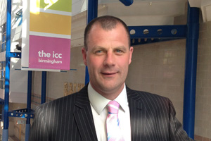 James Elston joins ICC Birmingham as sales director