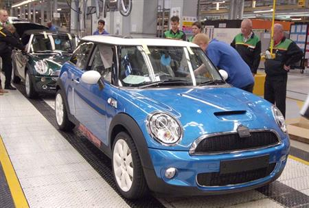 Mini hosts managers conference at Oxford factory