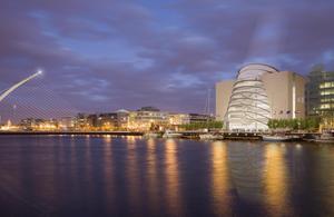 Convention Centre Dublin wins 40 events