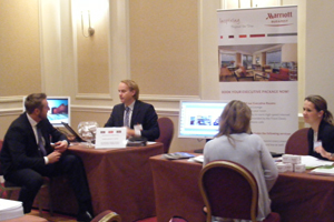 Corporates attend Marriott hotel showcase