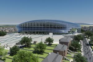The Aviva Stadium, in Dublin, is set to open in May