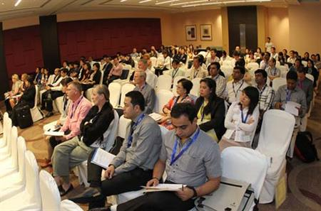 Conference delegates at IT&CMA and CTW Asia-Pacific in 2012