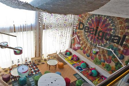 The Barcelona Princess hotel's loft, designed by Desigual