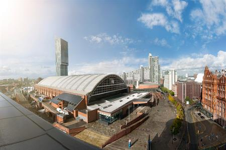 Manchester Central: more than 23,000sqm of event space