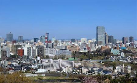 Sendai is known in Japan as the 'City of Trees'