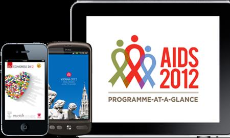 Nearly 15,000 delegates downloaded the event app at AIDS 2012 in July
