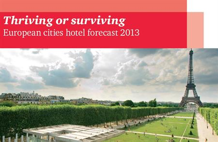 PWC has published its European cities hotel forecast 2013