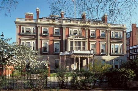 The Wallace Collection museum is located at Hertford House, near Oxford Street in London