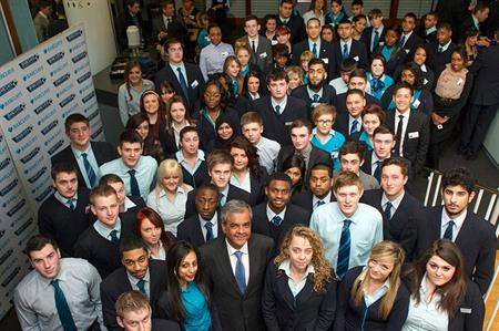 Barclays hires Congress Centre for London apprentice event