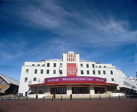 Earls Court: venue for next week's Business Travel Show