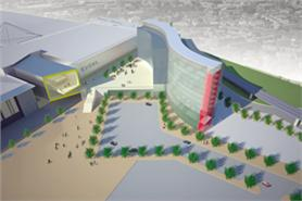 Plans for a new hotel at ICC Excel London