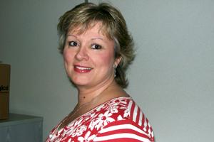 Dermologica event co-ordinator Maxine Richardson