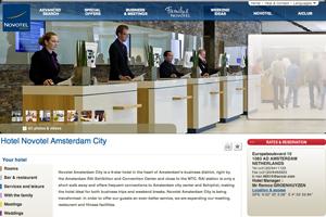 Novotel Amsterdam City to unveil new look