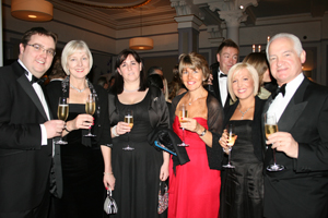 Guests at the HBAA's annual dinner