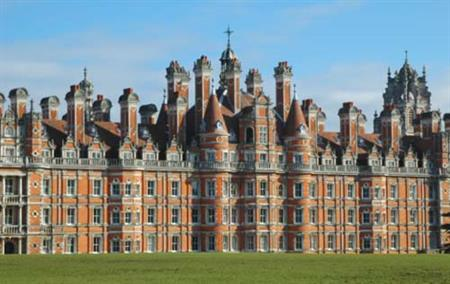 Royal Holloway, Univeristy of London, in Surrey is in close proximity to London