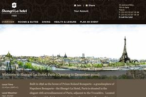 Shangri-La Hotel, Paris to open in December