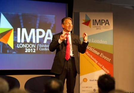 Former Conservative Party politician Michael Portillo spoke at the IMPA conference