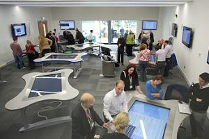 Corporates including EMCAS boost Exeter University event space