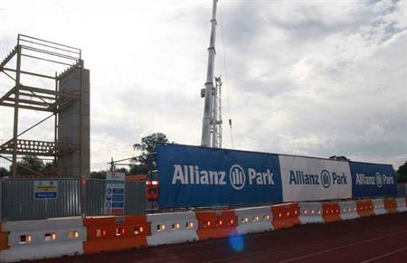 Saracens' new home Allianz Park will reopen after a £24m redevelopment