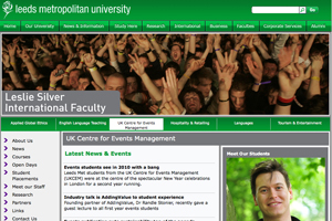 Leeds Metropolitan University's UK Centre for Events Management