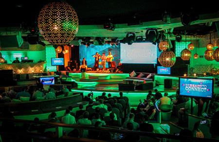 Kaspersky Lab used the So Lounge nightclub at the Sofitel Marrakech as an unconventional conference venue