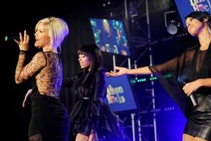 Sugababes attend Hilton Liverpool launch party