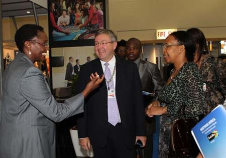 South Africa's National Convention Bureau was launched at Meetings Africa 2012 in February