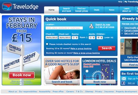 Travelodge plans £223m investment