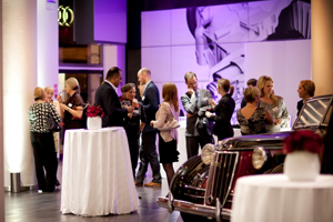 Audi Quattro rooms hosted Barclays Capital, BBC Worldwide and UBS