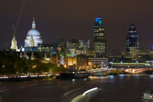 London hotel average room rate in May up 8%