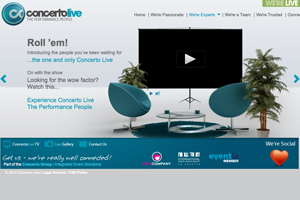 Concerto Group relaunches Concerto Live