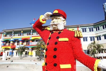 Legoland hotel to open in California in April