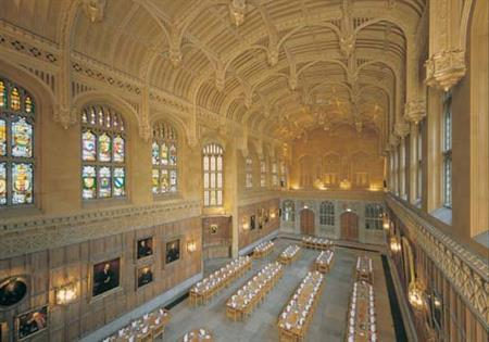 Dining at King's College, Cambridge