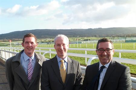 (L-R) Moulson, Renton and Foxton-Duffy join Cheltenham