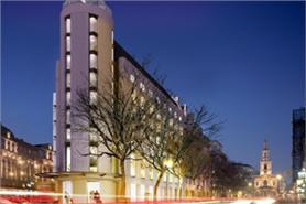 Fire hits Meliá Hotels International's London project