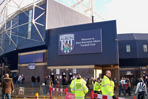 West Bromwiich Albion FC is on Sandwell MBC's supplier list