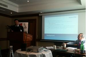 Saffery Champness partner David Bennett speaks at C&IT Agency Forum on 6 September