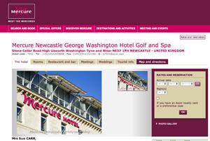 Mercure Newcastle George Washington Hotel Golf and Spa completes refurbishment