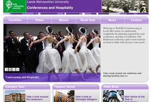 Well Met Conferencing at Leeds Metropolitan University attracts £333,000 of event bookings in July