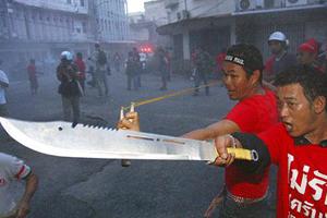 British Embassy in Bangkok remains closed as violence continues