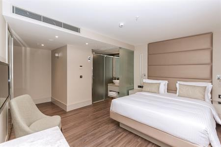 Guestroom at the newly-opened AC Istanbul Macka