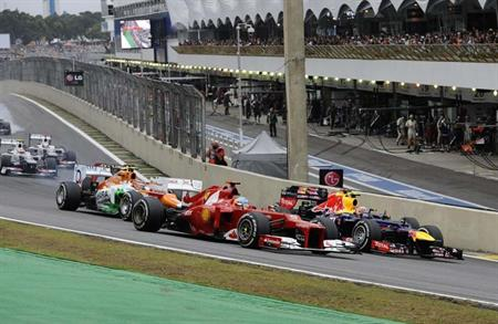 Events at the Brazilian Grand Prix have launched Akzo Nobel's work with Worldspan Group