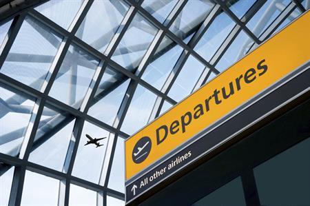 London airport departures
